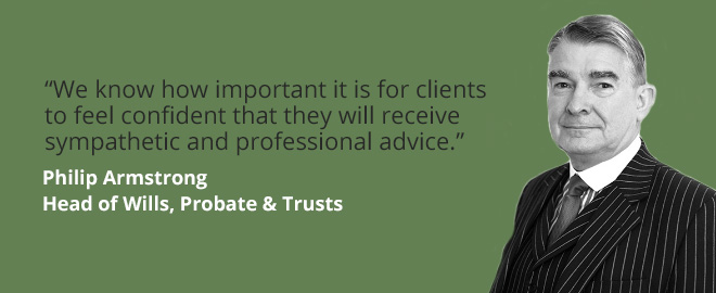 Wills, Probate & Trusts