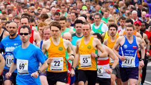 runners taking part in the Retford Half Marathon, which is sponsored by Jones & Co Solicitors